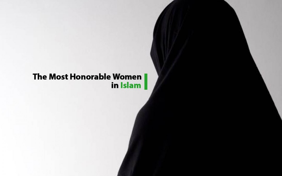 Mary the most honorable women in islam