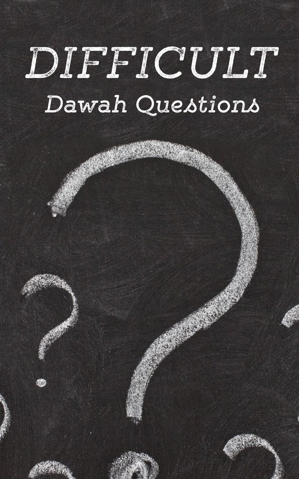 Difficult Dawah Question
